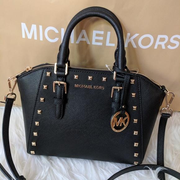 927d95f79322 Michael Kors Bags | Ciara Md Messenger Black | Poshmark